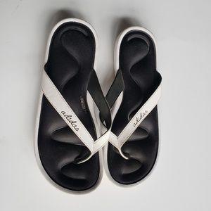 Adidas Flip Flops Sandals size 9